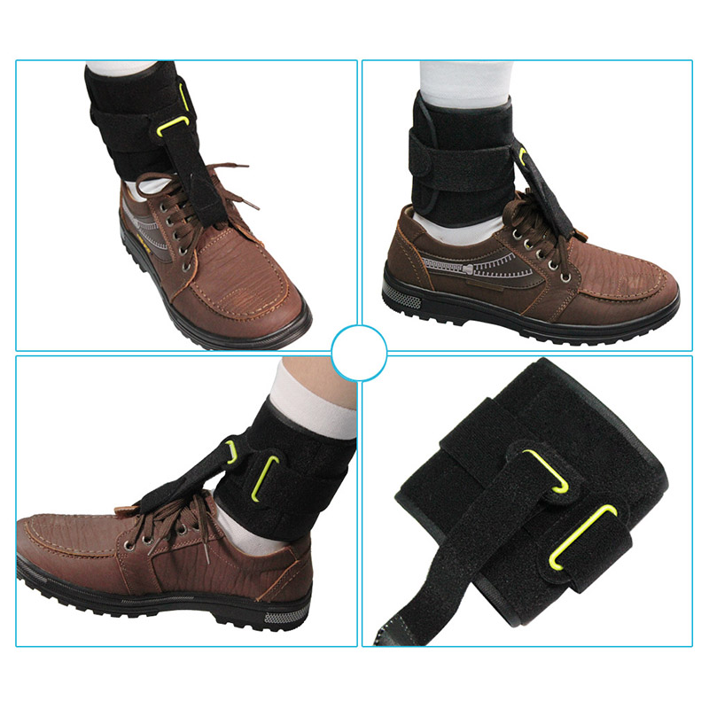 High Quality Universal Adjustable Ankle Foot Orthosis Drop Brace Bandage Strap for Plantar Fasciitis MD99