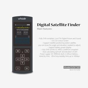 Image 2 - Vmade החדש מקורי DVB S/S2 שחור לווין Finder 3.0 אינץ LCD תצוגת תמיכה MPEG 2/4 1080 p DVB s2 Sat Finder עבור גרמניה