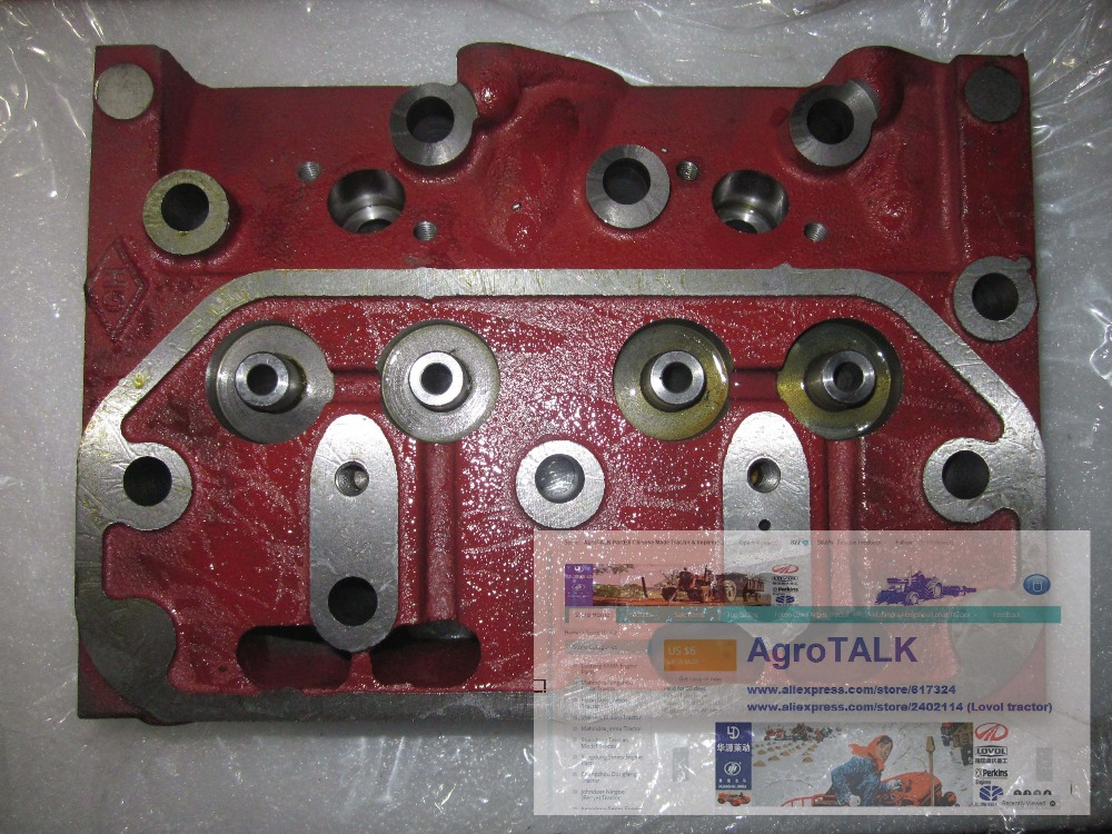 Shenniu tractor parts, the SN254 cylinder head for the engine HB295T, part number: 295-03101 jiangdong engine parts for tractor the set of fuel pump repair kit for engine jd495