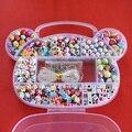 DIY Bracelet Plastic Acrylic Beads Kit Accessories GirlsToys Jewelry Making Kids Beads Set Latest charming Necklaces
