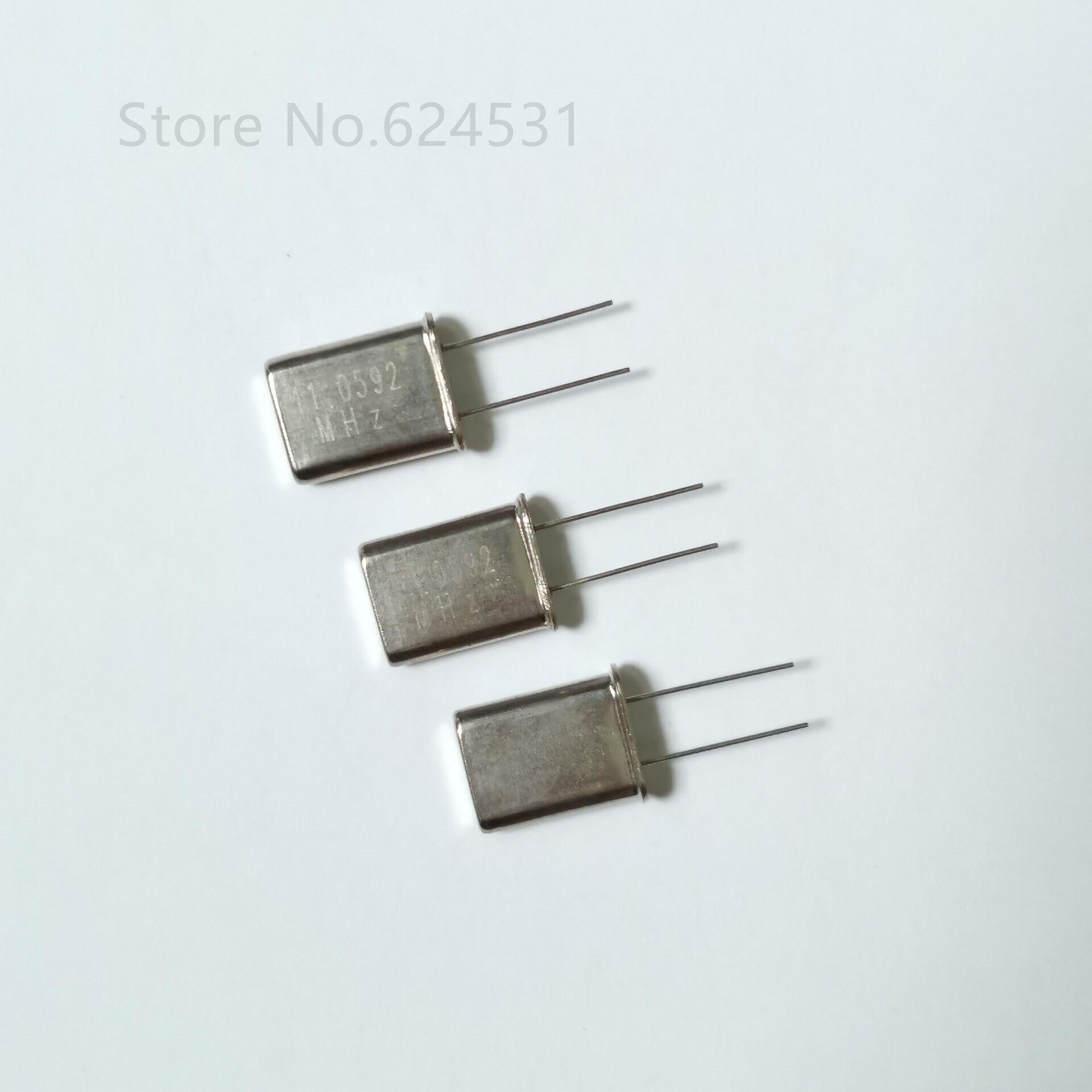 10pcs In-line HC-49U Quartz Crystal 11.0592MHZ 11.0592M Passive Crystal Resonator