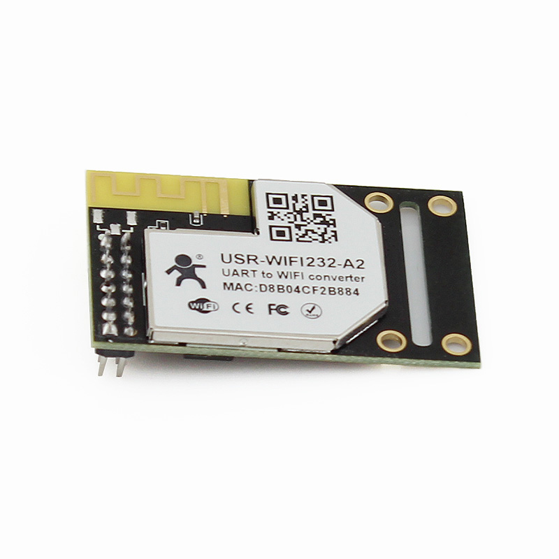 USR-WIFI232-A2 Free Shipping Industrial Serial TTL UART to Wifi Wireless Module with On-board Antenna DHCP/DNS Function ttl turn rs485 module 485 to serial uart level mutual conversion hardware automatic flow control