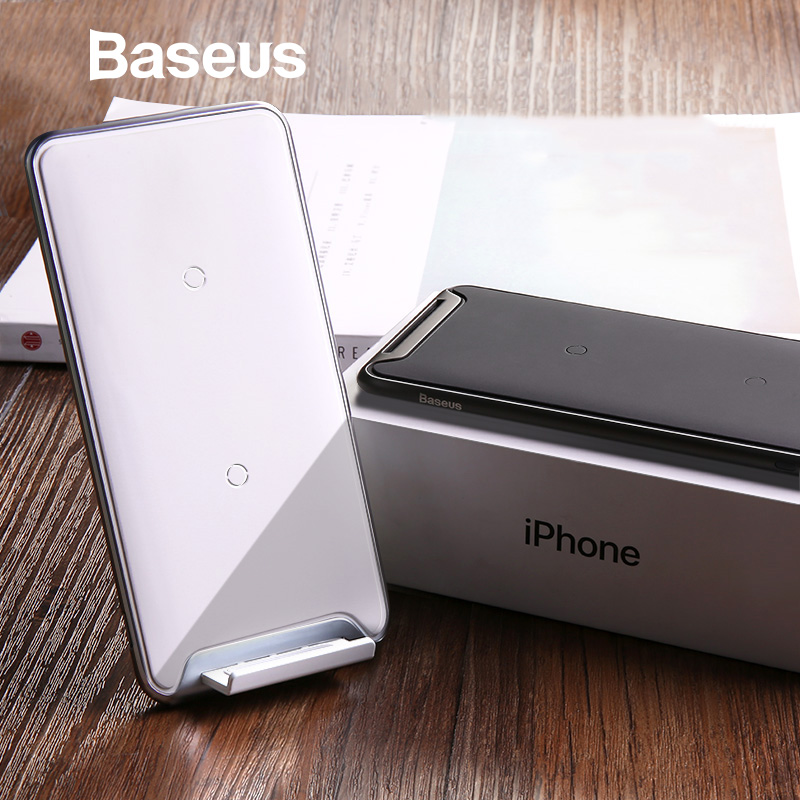 Baseus 10W 3 Coils Wireless Charger For iPhone X/XS Max XR Samsung Note 9 Xiaomi Oppo Multifunction Qi Wireless Charging PadBaseus 10W 3 Coils Wireless Charger For iPhone X/XS Max XR Samsung Note 9 Xiaomi Oppo Multifunction Qi Wireless Charging Pad