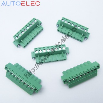 8poles Plug in Terminal Blocks PCB Connector Panel 5.08mm pitch male&female straight pin With Screw Lock DFK-MSTB 0710219 50sets