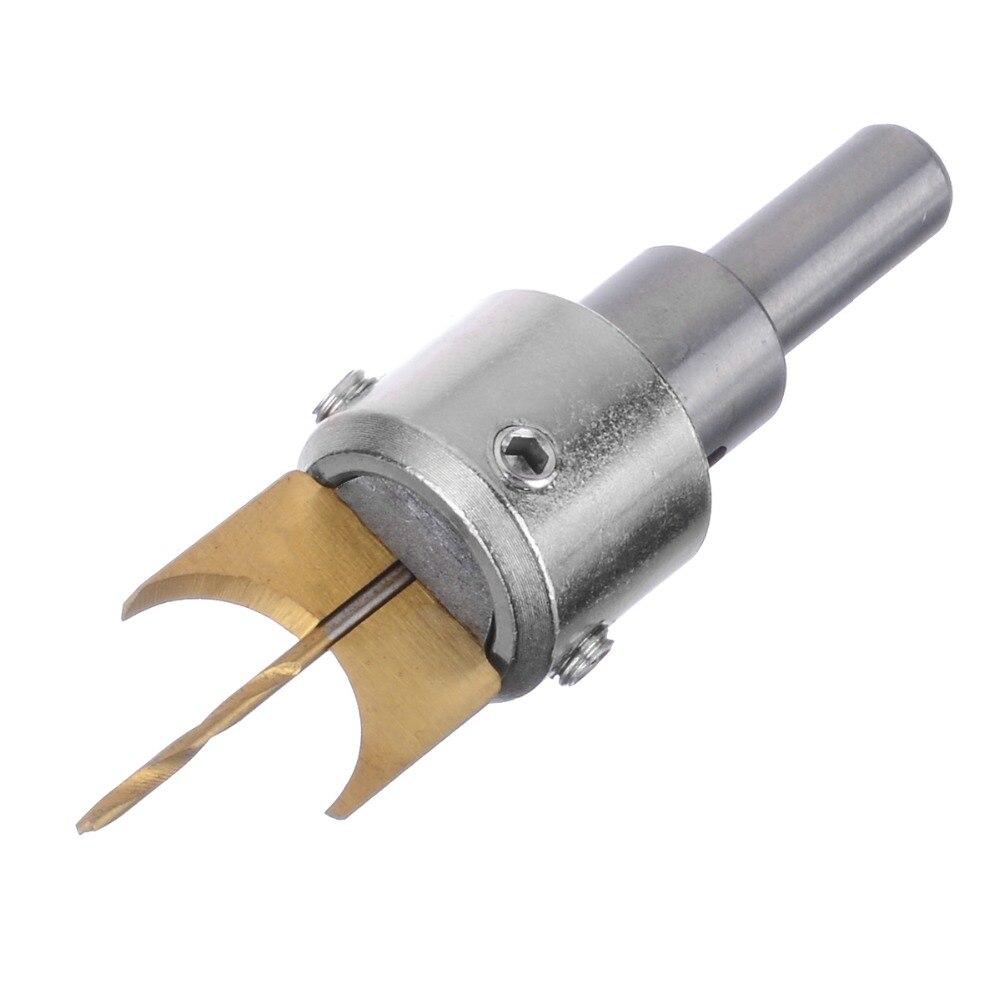 Купить с кэшбэком 16pcs Carbide Ball Blade Woodworking Milling Cutter Molding Tool Beads Router Bit Set 14-25mm