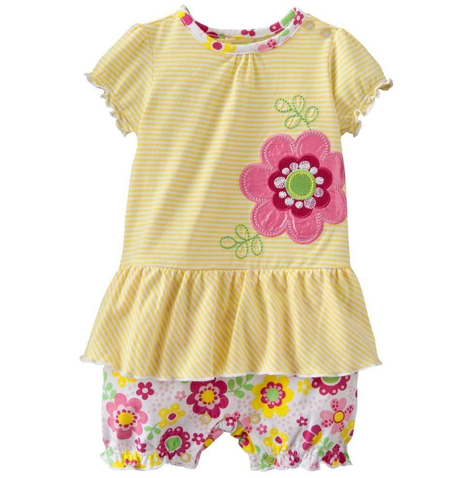 baby dress girls shortalls new bown dress rompers outfits jumpers jumpsuits babywear toddler one-pieces clothes tops W94