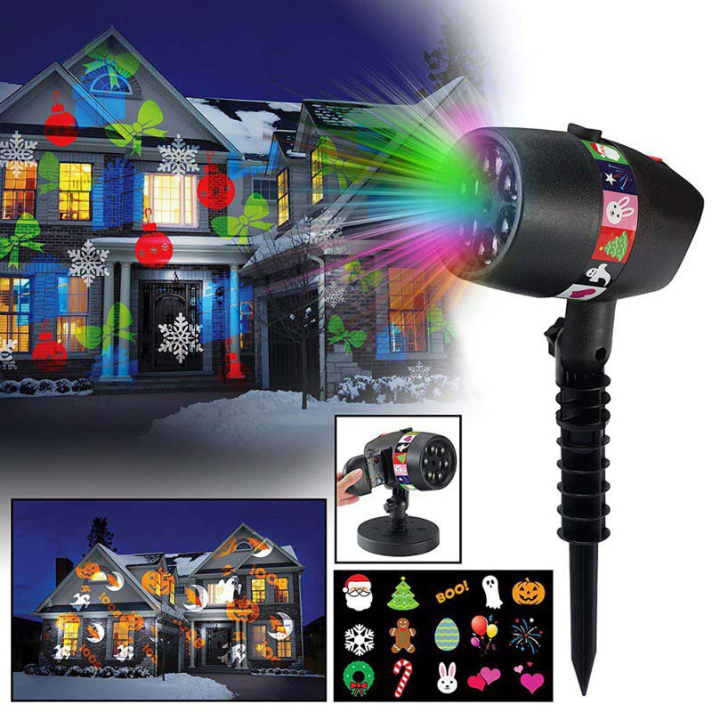 New-Outdoor-Slide-Show-Landscape-Lighting-Christmas-Halloween-Projection-Lamp-Sparkling-Laser-Light-Show-Lawn-Lights