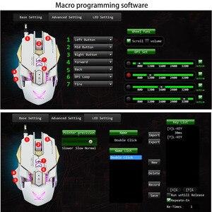 Image 5 - G9 برمجة الماكرو المهنية السلكية الألعاب Mause 3200 ديسيبل متوحد الخواص قابل للتعديل 7 أزرار USB بصري ألعاب ماوس الفئران ل جهاز كمبيوتر شخصي