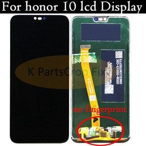 Image 2 - 名誉 10 フレームと huawei 社の名誉と 10 lcd スクリーンディスプレイタッチパネル指紋アセンブリ交換部品