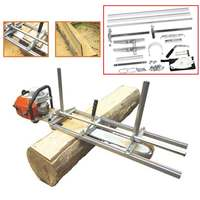 Portable Chain Saw Chainsaw Mill 36 Inch Planking Milling Bar Size 18 Inch to 36 Inch Planking Lumber Cutting Tool Kit