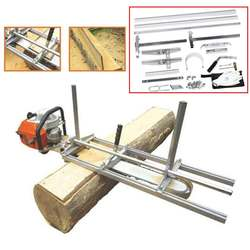 Tragbare Kettensäge Kettensäge Mühle 36 Zoll Beplankung Fräsen Bar Größe 18 Inch zu 36 Inch Beplankung Holz Schneiden Werkzeug kit