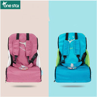 Polyester Portable Baby booster Seats Feedeing Chair Seat Highchair Belt Kids Protection Protector Safety Dining Guard Folding
