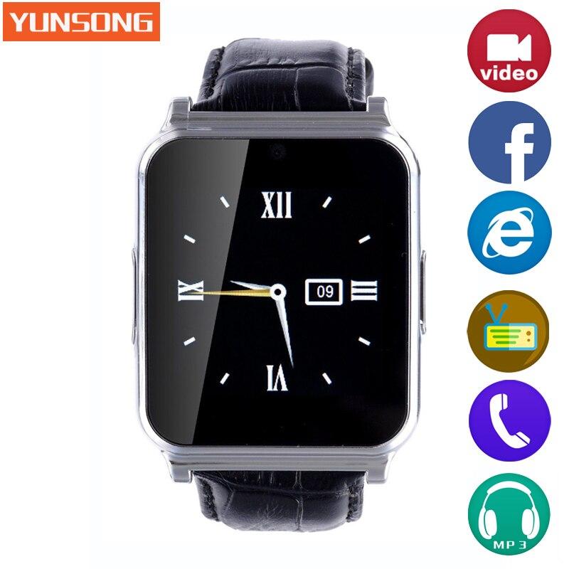 imágenes para Dispositivos Portátiles de Vigilancia inteligente Reloj Bluetooth Del Teléfono Smartwatch MTK6260 Niños deporte reloj de Radio de banda Inteligente pk GT08 U8