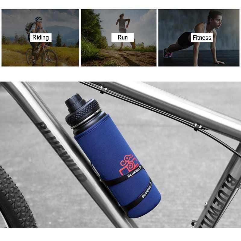 จักรยานน้ำขวด 650ML กลางแจ้งกีฬาฟิตเนสวิ่งขี่จักรยานอบอุ่นเก็บจักรยานกาต้มน้ำขวดเครื่องดื่มถ้วยสแตนเลส