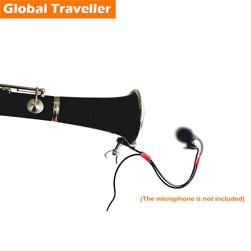 1 pieza estándar Clarinete (Bb) Clip de soporte de micrófono - Instrumentos musicales - foto 1