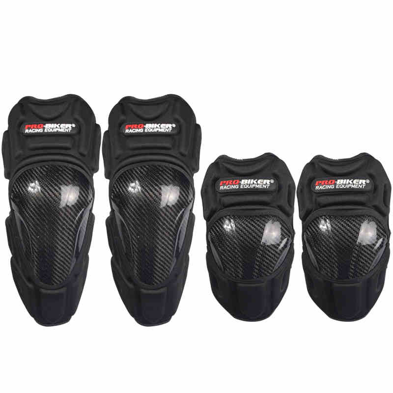 Carbon fiber Knee pads protective moto knee motocross protector joelheira moto kneepads for motorcycling moto protecting legs