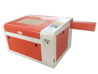 Free Shipping To Russia No Tax LY CO2 6040 Laser Engraver 60W Tube With Rotary Axis