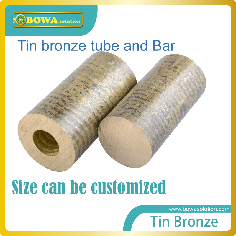 Tin Bronze tube or bar is wonderful raw material for valves or heat exchanger resists corrosion (especially seawater corrosion)
