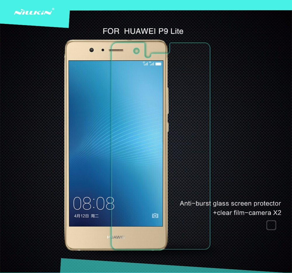 For Huawei P9 Lite Screen Protector Nillkin 9H hardness Amazing H H+PRO PE+ Anti-Explosion Tempered Glass For Huawei g9 lite