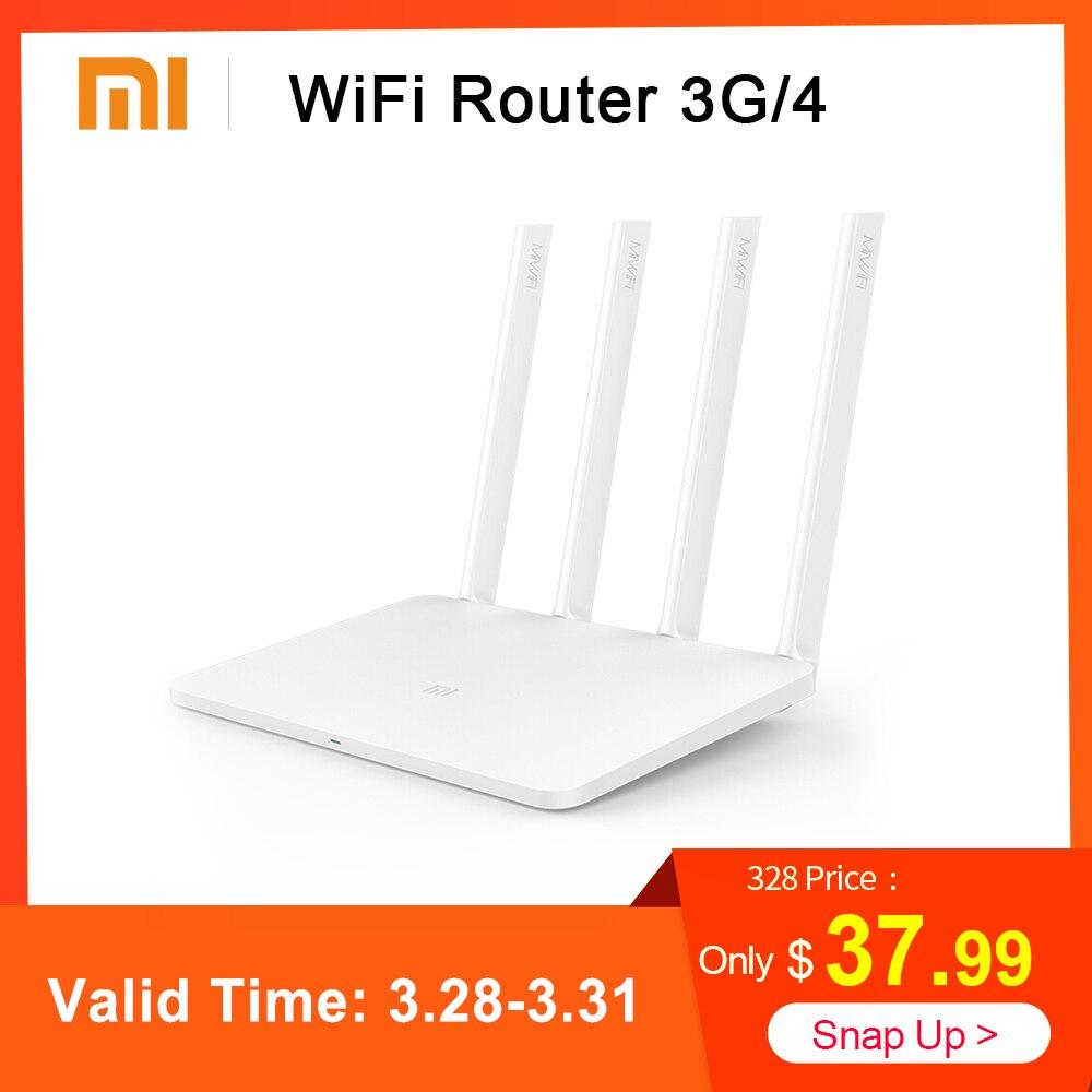 Xiao mi mi Roteador Sem Fio Wi-fi 3G/4 4 867 Mbps Wi-fi Repetidor 1167 Mbps 2.4G/ 5 GHz Dual Banda de 128 MB Flash ROM Controle APP