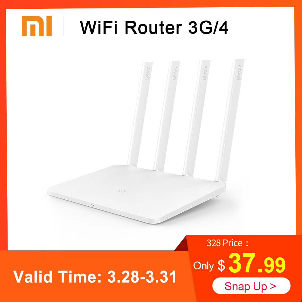 Xiaomi MI WiFi Wireless Router 3G / 4 867Mbps WiFi Repeater 4 1167Mbps  2 4G/5GHz Dual 128MB Band