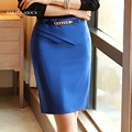 New  Fashion Women Spring and Summer Straight Skirts Women High Waist Big Size 3XL Knee-Length Work Bust Skirt Ladies