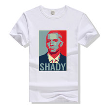 Eminem T-shirt Hiphop Tshirt HipHop Tee Shirt Homme Mannen Vrouwen Zomer Top Kleding T-Shirt Slim Shady Streetwear Wit(China)