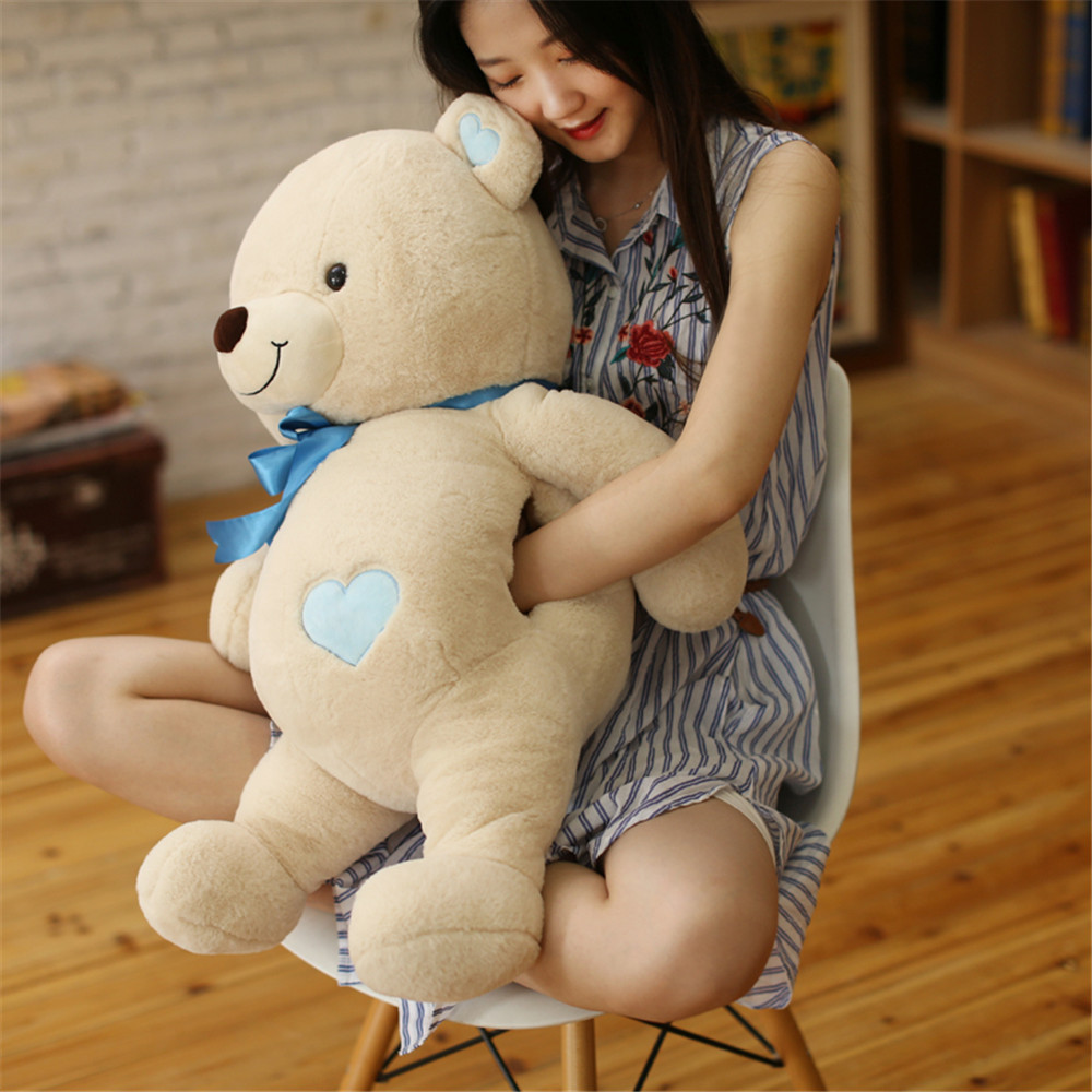 Fancytrader Cute Plush Bear Hands Warm Toys Stuffed Nice Teddy Bears Gifts Doll 80cm 31inch for Children fancytrader real pictures 39 100cm giant stuffed cute soft plush monkey nice baby gift free shipping ft50572