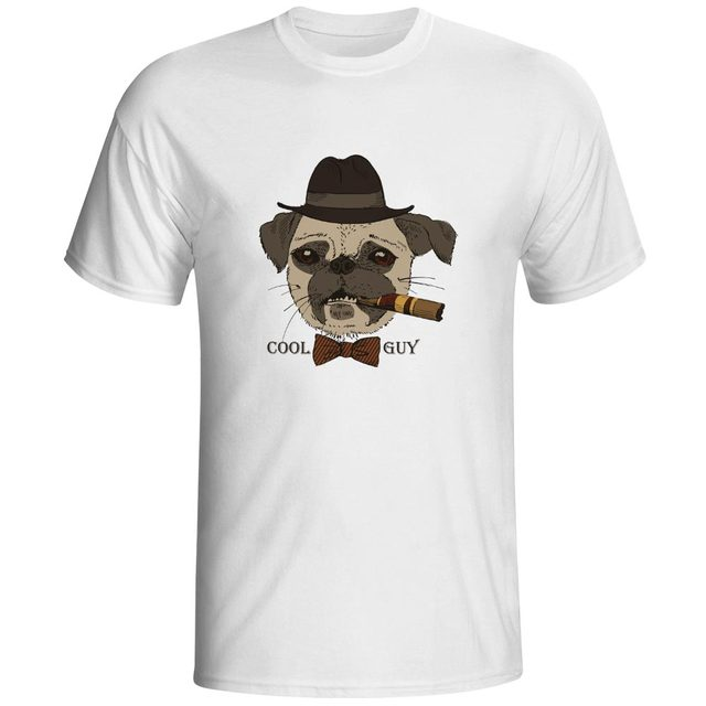 Smoke Dog Cool Guy Funny Designed Short Sleeve Tshirts 3d Printed ...