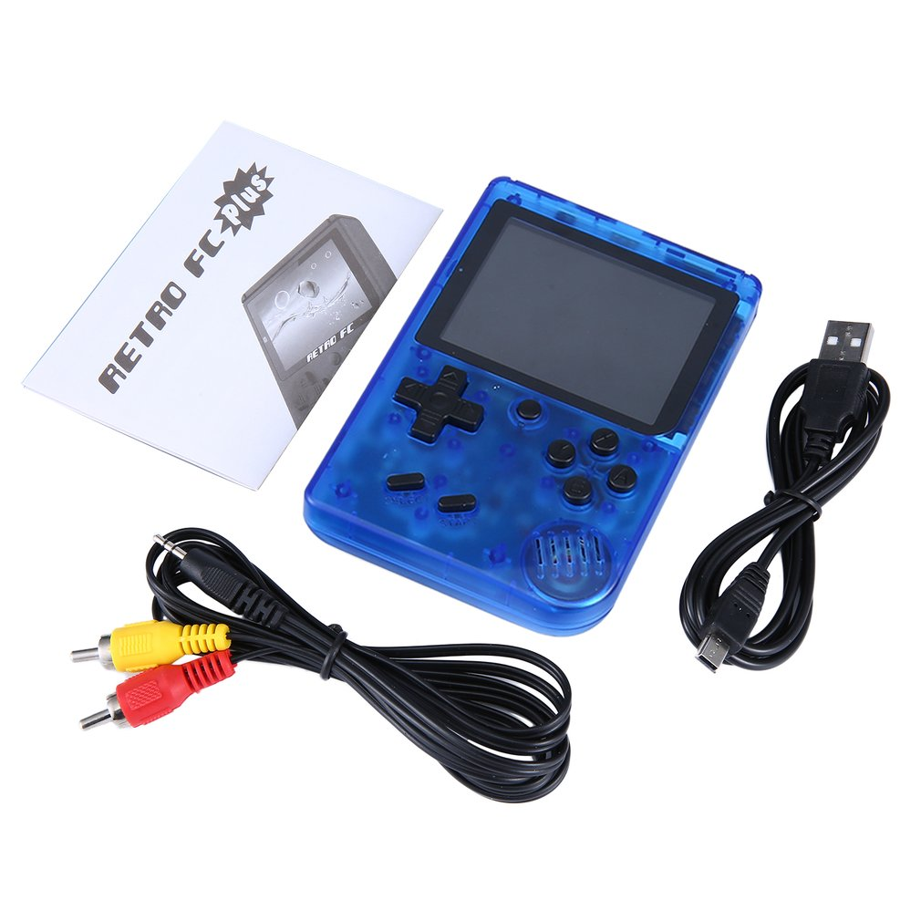 Retro Mini Portable Handheld 360 in 1 Game Console Players 3.0 Inch 8 Bit Classic Video Console RETRO-FC plus