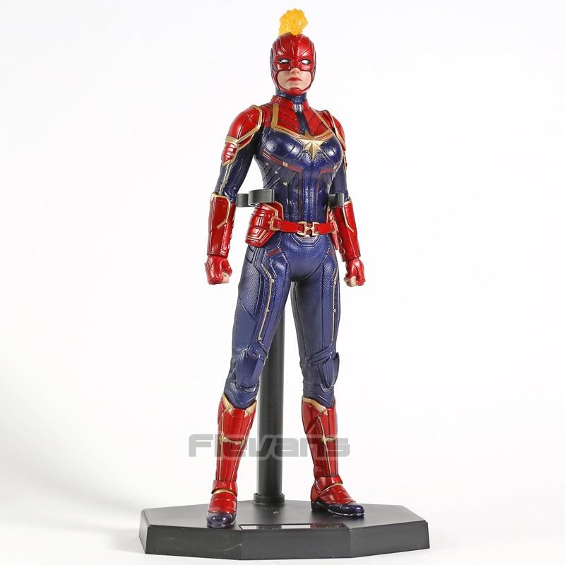 Crazy Toys Captain Marvel Carol Danvers ONE 6 PVC Figure Collectible Model Toy