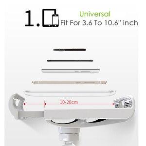 Image 3 - YNMIWEI حامل الهاتف المحمول 130 سنتيمتر طويل الذراع السرير/سطح المكتب كليب قوس لباد مكتب اللوحي تقف دعم