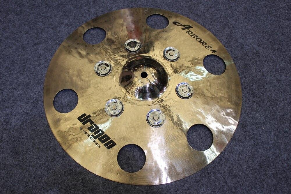 Arborea Dragon 18 tambourine cymbal Wonderful effect cymbal