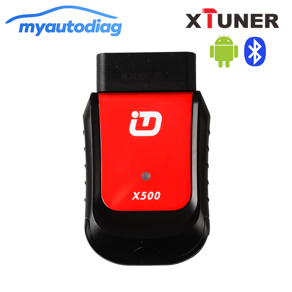 100% Original XTUNER X500 Bluetooth Special Function Diagnostic Tool works with Android Phone/Pad hot new xtuner e3 easydiag wireless obdii full diagnostic tool with special function pefect replacement for vpecker easydiag