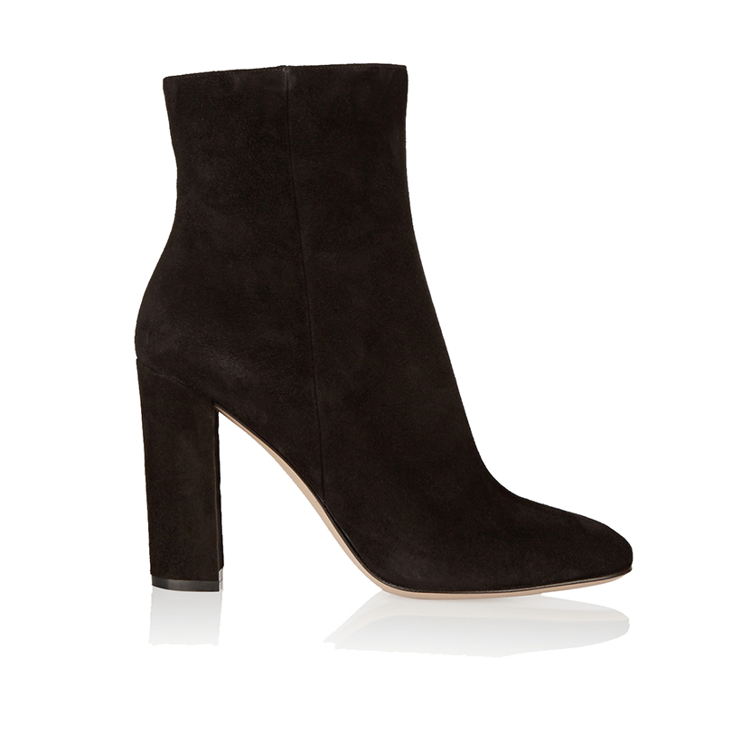 ФОТО Ladies Boots 2017 Casual Winter Black Suede Round Toe Square Heel Ankle Boots For Women Custum Large Size Zipper Shoes US 4-15.5