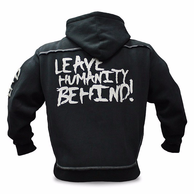 Mutant New Autumn Fitness Hoodies Brand Clothing Men Pullover Casual Sweatshirt Muscle Men's Slim Fit Hooded Jackets 2