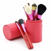 2018 Makeup Brushes Professional Cosmetics Brush Set 12pcs High Quality Top Synthetic Hair With Pink Cylinder