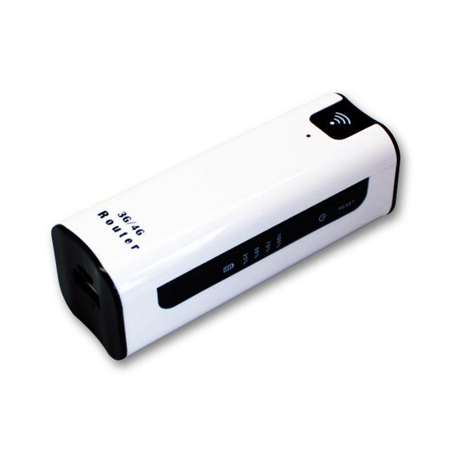 2016 Mini punto de Acceso Inalámbrico Portátil con 2200 mAH Banco de la Energía cargador extender 3G Router WiFi Routeur con SIM TF Ranura Para tarjeta