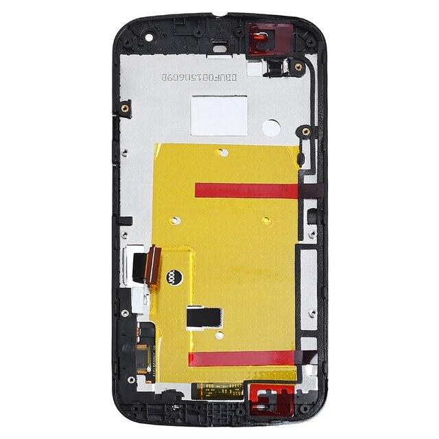 Для Motorola MOTO G2 ЖК-Дисплей С Сенсорным Экраном Дигитайзер Ассамблеи Ближний Рамка + Инструменты XT1063 XT1064 XT1068 XT1069 Жилья