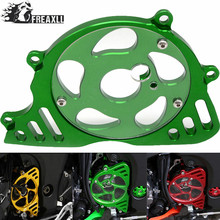 Motorcycle Accessories For Kawasaki Z1000 Z 1000 2010 2011 2012-2016 Front Sprocket Chain Guard Cover Left Side Engine Green