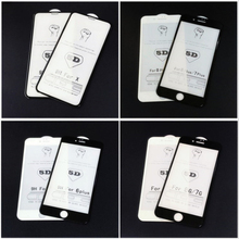 3PCS 5D 9H Tempered glass for Apple iphone X XS MAX XR toughened Protector Screen 5 5S SE 6 6S 7 8 Plus film
