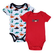 2 PCS/LOT 2016 Fashion High Quality Baby Romper Boy & Girl Cartoon Animal 0-12M Jumpsuit Body Suit Baby Clothes Romper