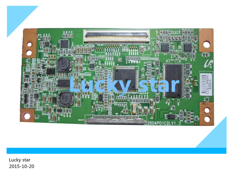 good working High-quality for original 99% new for board 260AP01C2LV1.3 LTA260AP01 LTA260W3-L03 T-con logic board 2pcs/lot 6870c 0511a t con logic board for printer t con connect board