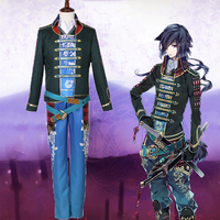Anime Sengoku Night Blood Cosplay Costume Masamune Date Uniform Cosplay Costumes Halloween Carnival Party Cosplay Customized