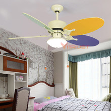 Ventilator Lamp. Elegant Rotating Ventilator With Lights On The ...