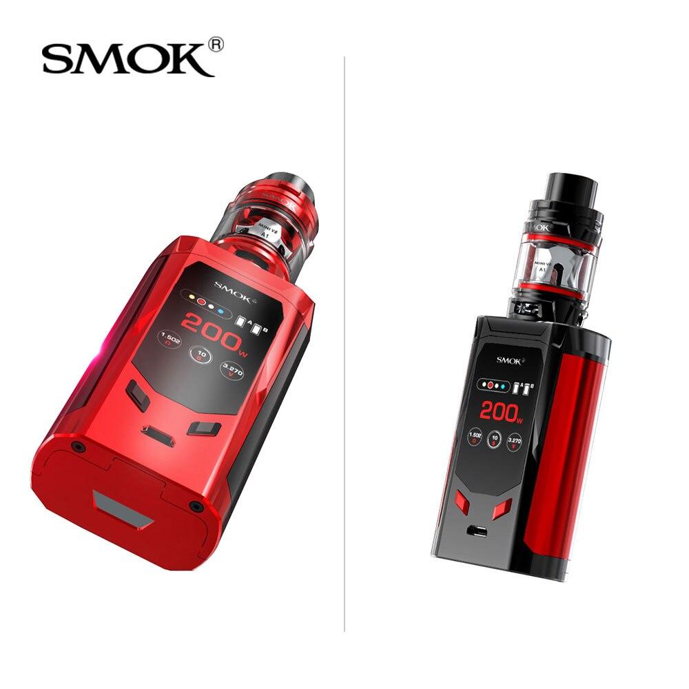 Kit Original Smok r-kiss édition ue 200W + tfv-mini V2 réservoir 2ml + Mini V2 A1/A2 bobine pour cigarette électronique smok R Kiss kit vape - 3