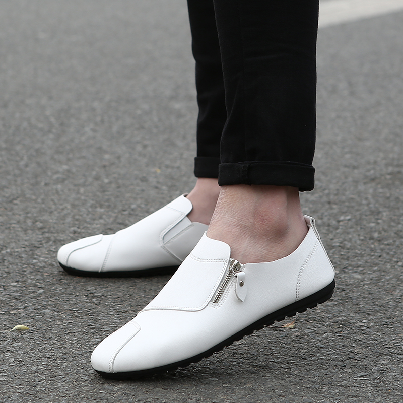 Men Loafers 2017 Summer Fashion Flat Men Shoes Male Casual Shoes Slip On Lazy Men Flats Shoes Cheap Moccasins Boat Driving Shoes 2017 new fashion summer spring men driving shoes loafers real leather boat shoes breathable male casual flats