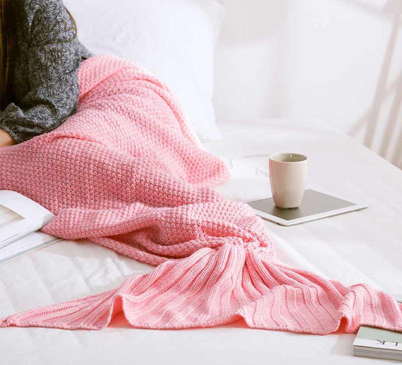 HTB1mbu6OXXXXXa3XFXXq6xXFXXXO - Mermaid Blanket Handmade Knitted Sleeping Wrap PTC 70
