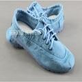 -Algodão feito beijing sapatos outono sapatas de lona denim sapatos casuais sapatos da moda sapatos confortáveis sapatos baixos das mulheres