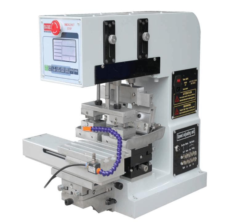 tabletop 2 color pad printing machine, ink tray pad printing machine manufacture tabletop electric pad printing machine small pad printing machine mini pad printing machine